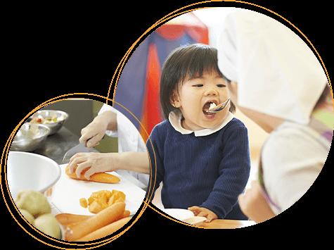 給食と食育の写真